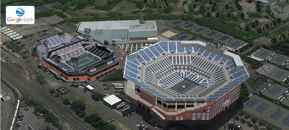 Arthur Ashe e Louis Armstrong Stadium